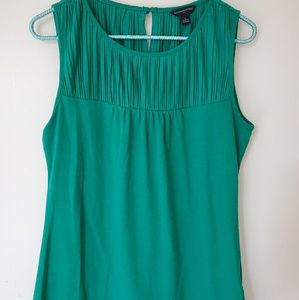 Banana Republic emerald green tank